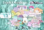 +Pack Overlays: Cute Kawaii [FREE]
