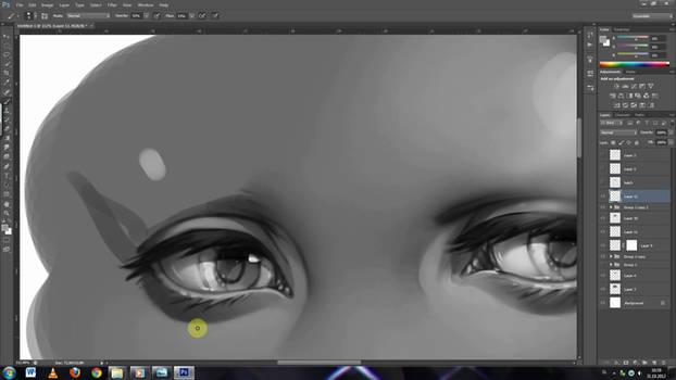 +Painting anime eyes... video tutorial+