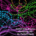 Dotted Swirl Ps CS4 Brush Set