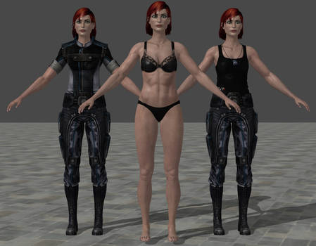 [Update] Buff FemShep XPS/XnaLara - now with abs