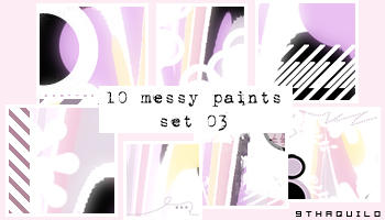 Messy Paints by 9thaquilo