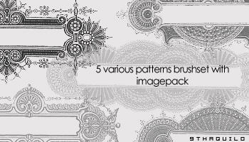 Various Patterns Brushset by 9thaquilo