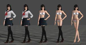 Miu Hinasaki School Uniform Model for XPS 11.8