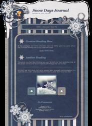 Snow Days Journal CSS