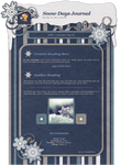 Snow Days Journal CSS by SimplySilent