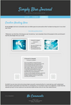 Simply Blue Journal CSS by SimplySilent