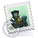 wolverine mail stamp