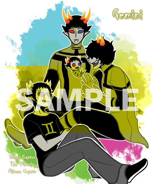 Sollux x little sister!reader- headaches by pepsicola56 on