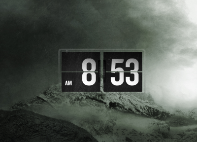 Flip Clock for XWidget by Blaezer