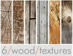 Six Wood Textures