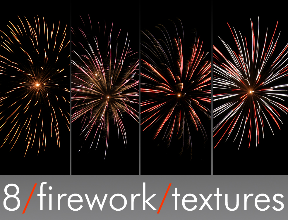 8 Firework Textures