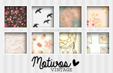 Motivos Vintage! by iBeHappyRawr