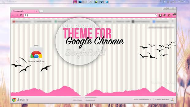 Theme for Google Chrome by iBeHappyRawr
