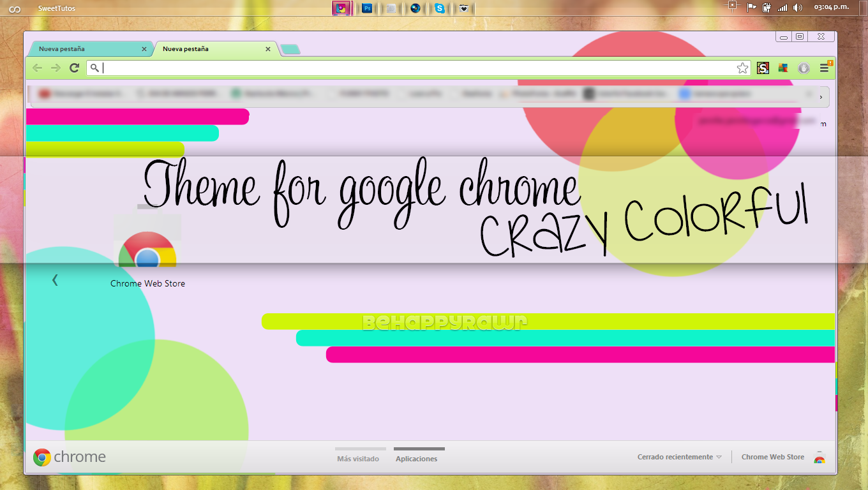 Theme CrazyColorful BHR by iBeHappyRawr