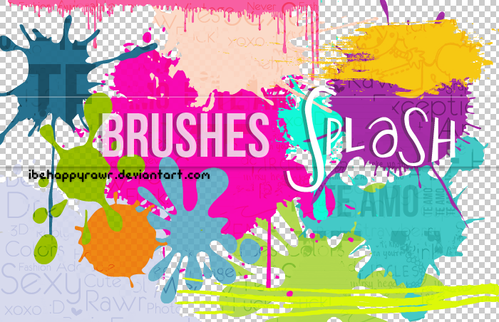 Brushes Splash BHR
