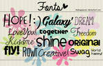 Fonts BHR