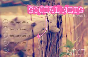 Skin Social Nets BHR by iBeHappyRawr