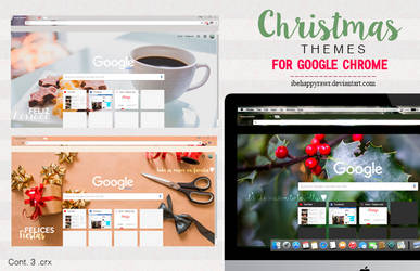 Themes Google Chrome XMAS (2/2)