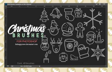 Brushes Christmas