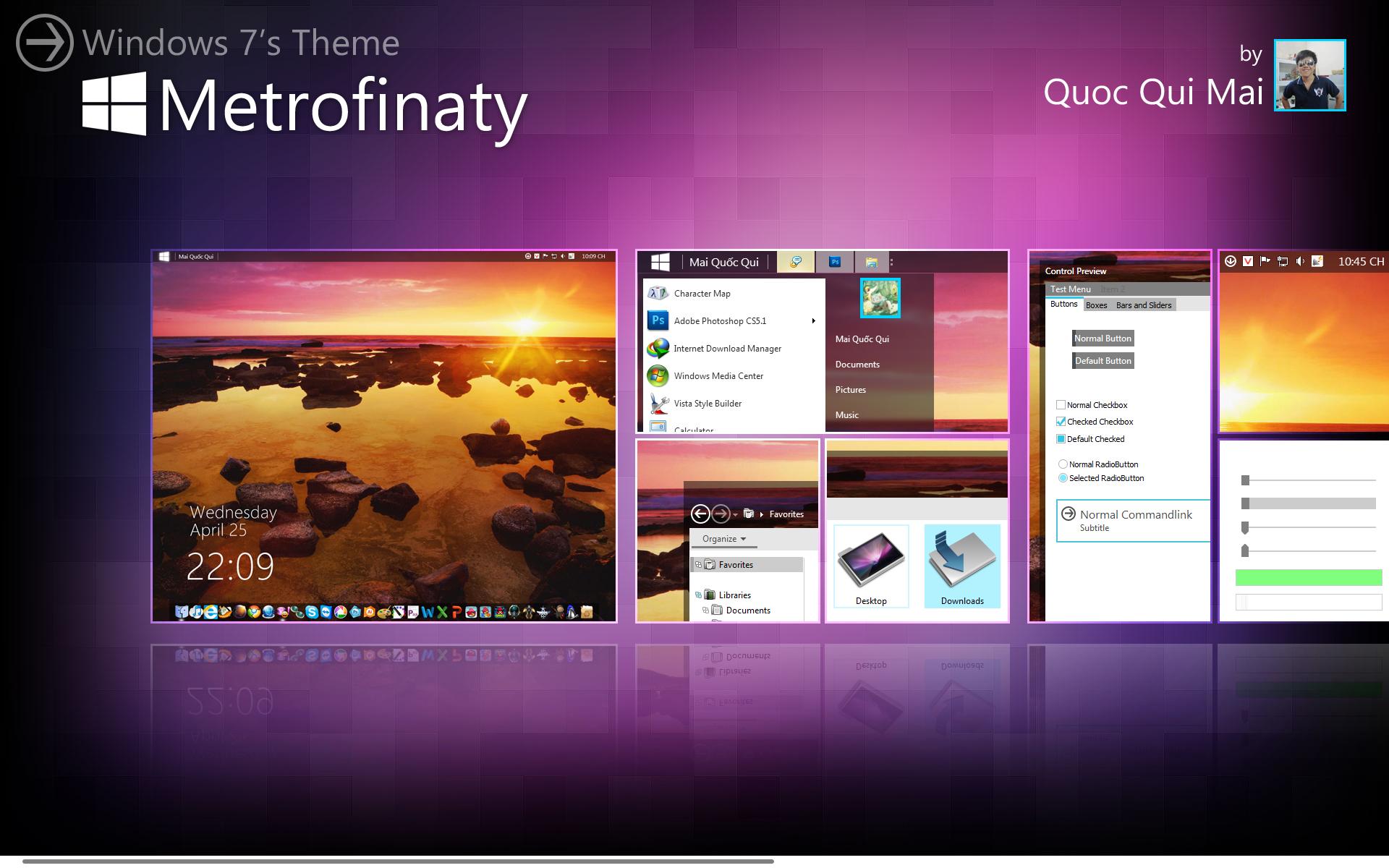 Metrofinaty for Windows 7