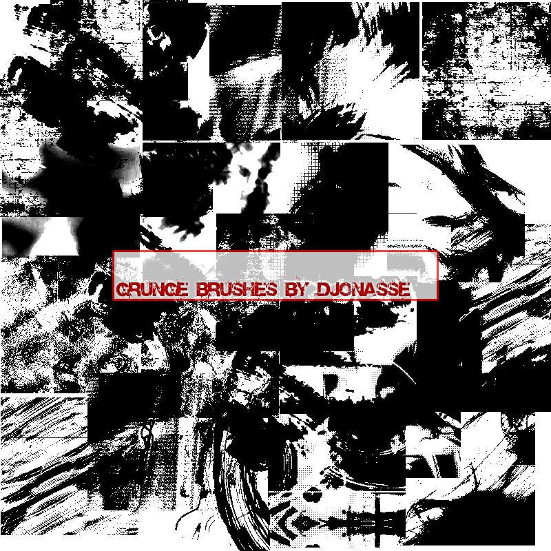 DJonasse Grunge Brushes by DJonasse