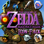 Majora's Mask Icon Pack by KlydeStorm
