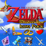Wind Waker Icon Pack by KlydeStorm