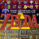 A Link to the Past Icon Pack by KlydeStorm