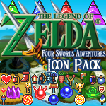 FourSwordsAdventures Icon Pack by KlydeStorm