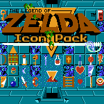 Legend of Zelda Icon Pack by KlydeStorm