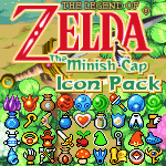 The Minish Cap Icon Pack by KlydeStorm