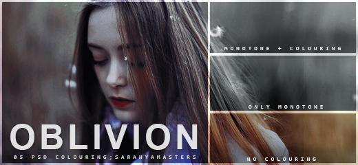 [#5 PSD] Oblivion - SARANYAMASTERS