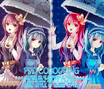 PSD Colouring 3 by ss present