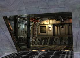 RE5 Stealth Jet by a-m-b-e-r-w-o-l-f