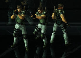 Chris BSAA Pose Pack