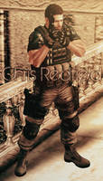 Chris Redfield RE6 by a-m-b-e-r-w-o-l-f