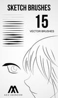 Sketch Brushes by A-GraphicDesigner