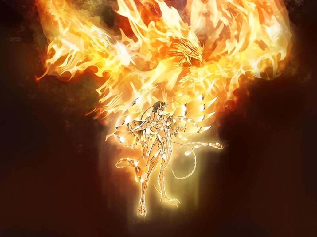 Wallpack saint seiya phoenix by thenti on deviantart - Photo de phenix ...