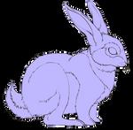 Rabbit Lineart FREE