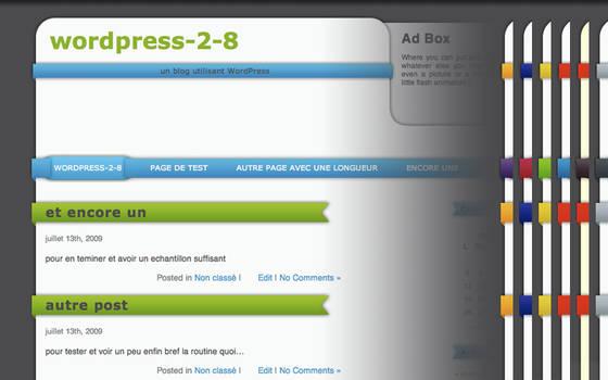 Strapped - Wordpress theme