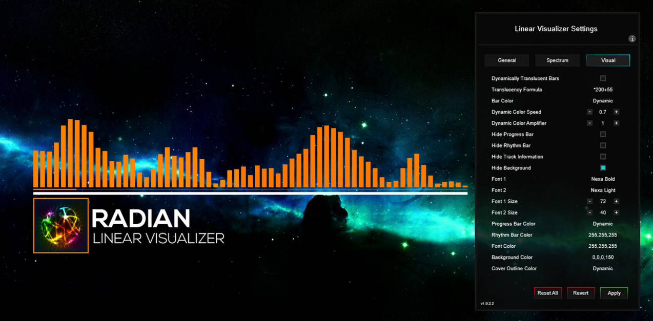 Radian Linear Visualizer 1 9 3 by FreezingClouds on DeviantArt