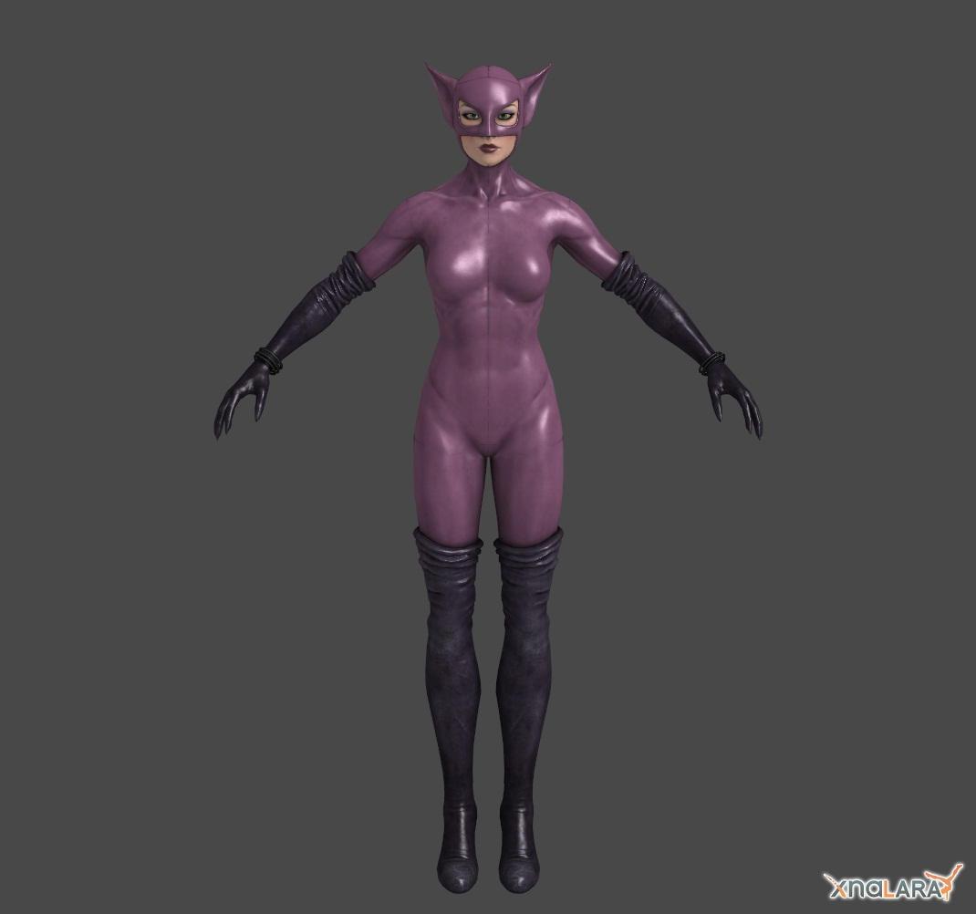 Arkahm City - Long Halloween Catwoman by Ventrue533