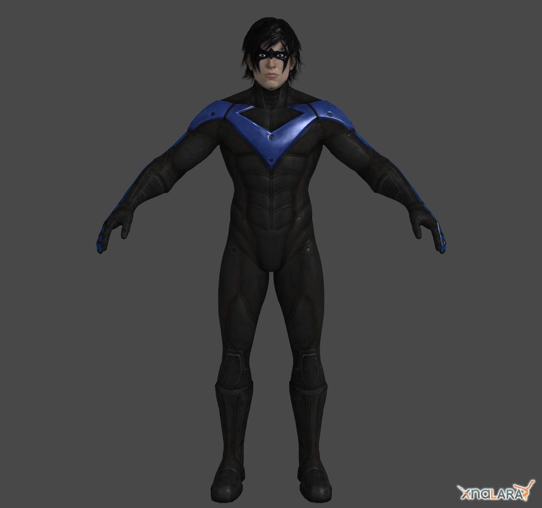Arkahm City - Nightwing by Ventrue533