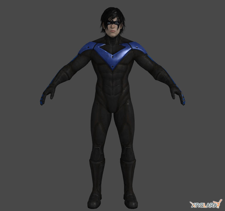 Arkahm City - Nightwing by Ventrue533 on DeviantArt