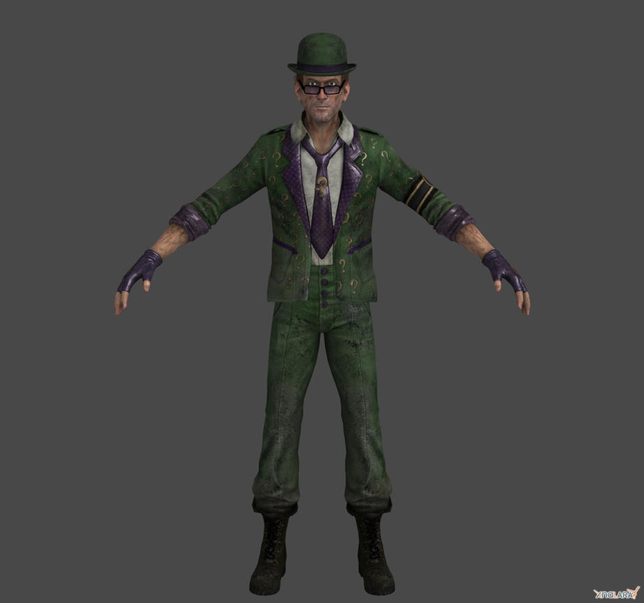 Arkahm City - The Riddler by Ventrue533