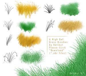 Grass brushes 2