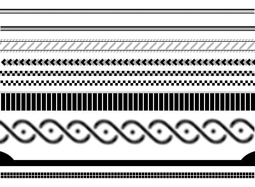 Semi-Basic Border Brushes by Animalluver1985 on DeviantArt