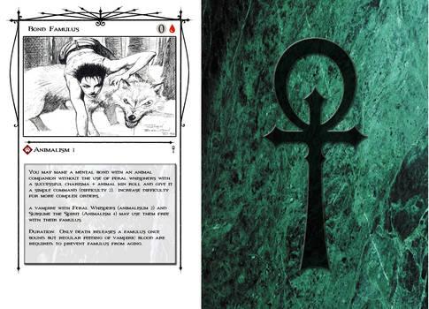 Vampire TM 5th - Discipline Cards
