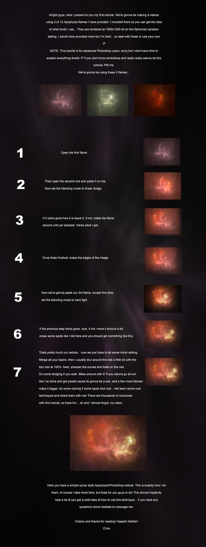 Photoshop Nebula Tutorial by synax444