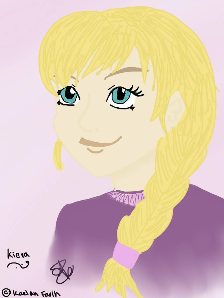 Character Design -- Kiera (Gene Magicka)